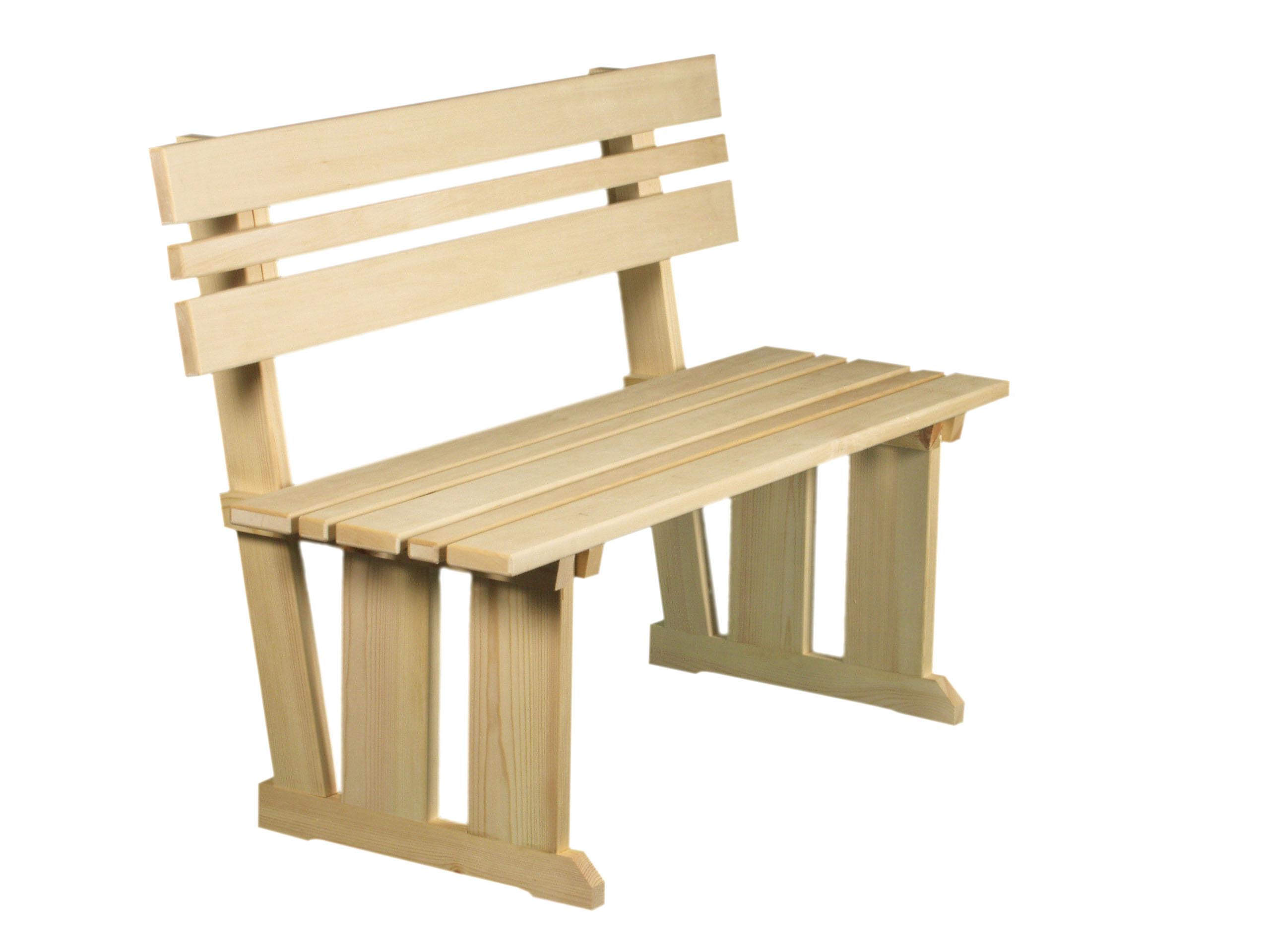 Как сделать скамейку со спинкой своими руками: чертеж, размеры 53